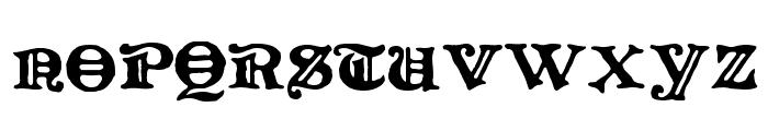 LevelFourteenDruid Font UPPERCASE