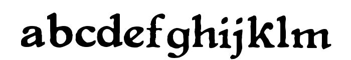 LevelFourteenDruid Font LOWERCASE