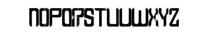 Leven - LJ-Design Studios Grunge Font UPPERCASE