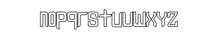 Leven - LJ-Design Studios Traze Font LOWERCASE