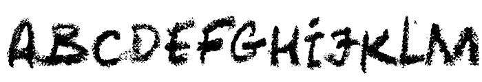 LeviCrayola Font UPPERCASE