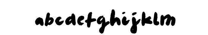 LeviMarker Font LOWERCASE