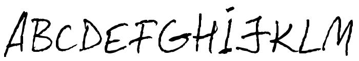 LeviPen Normal Font UPPERCASE