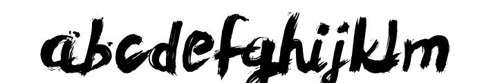 LeviReBrushed Font LOWERCASE