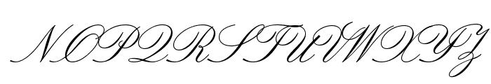 LeviScriptOpti Font UPPERCASE