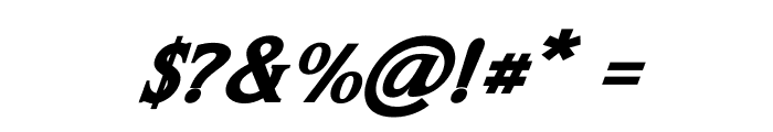 Leviathan Italic Font OTHER CHARS