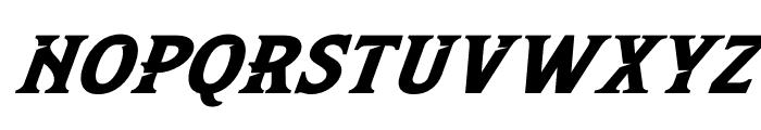 Leviathan Italic Font UPPERCASE