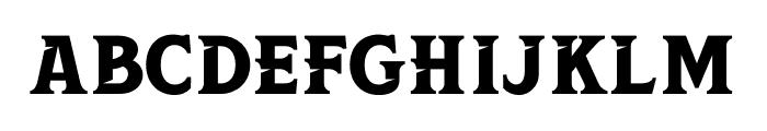 Leviathan Font UPPERCASE