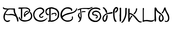 Lewis F. Day 191 Font LOWERCASE