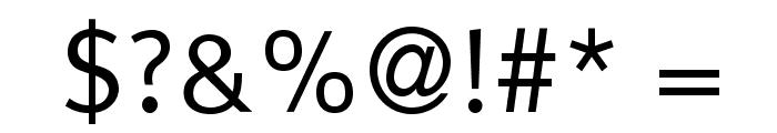 LexusRomanOpti-Regular Font OTHER CHARS