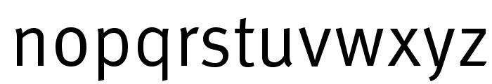 LexusRomanOpti-Regular Font LOWERCASE