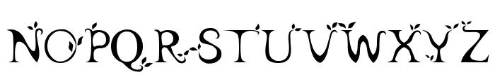 leaf1 Font UPPERCASE