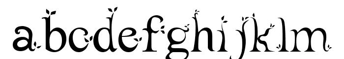 leaf1 Font LOWERCASE