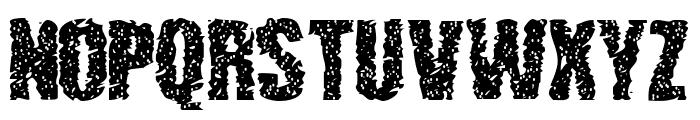 lethargic Font UPPERCASE