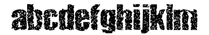 lethargic Font LOWERCASE
