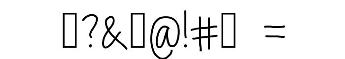 lex Font OTHER CHARS