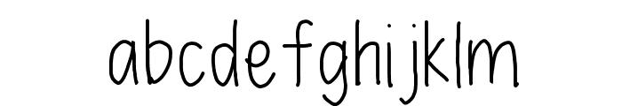 lex Font LOWERCASE