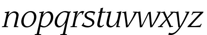 LeawoodStd-BookItalic Font LOWERCASE