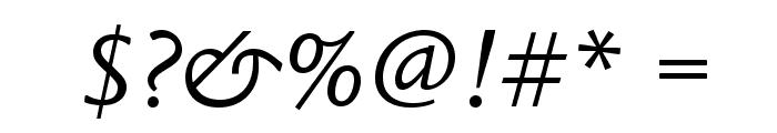 LegacySansStd-BookItalic Font OTHER CHARS