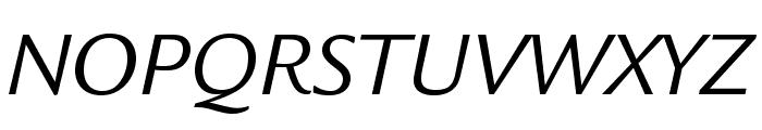 LegacySansStd-BookItalic Font UPPERCASE