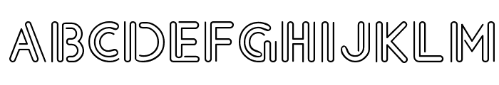 Legerdemain Regular Font UPPERCASE