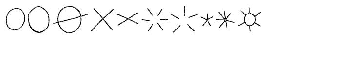 LeOsler Stamp Icon Light Font OTHER CHARS