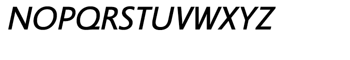 Legal Medium Italic Font UPPERCASE
