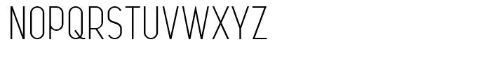 Leger Light Font UPPERCASE