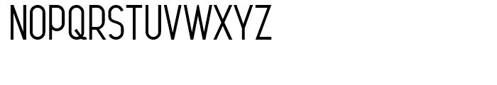 Leger Regular Font UPPERCASE