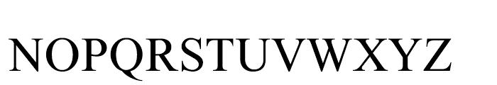 Lehava Normal Font UPPERCASE