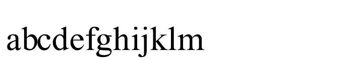 Lehava Normal Font LOWERCASE