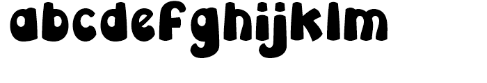 Leibix Condensed Font LOWERCASE