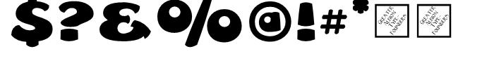 Leibix Regular Font OTHER CHARS