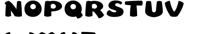 Leibix Regular Font UPPERCASE