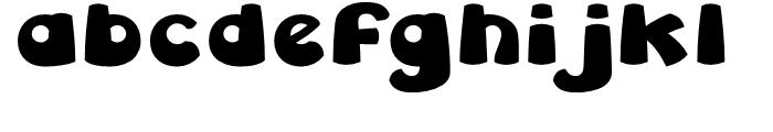 Leibix Regular Font LOWERCASE