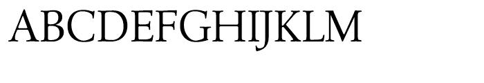 Leighton Light Font UPPERCASE