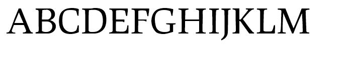 Leipziger Antiqua Regular Small Caps Font UPPERCASE