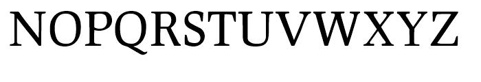 Leipziger Antiqua Regular Font UPPERCASE