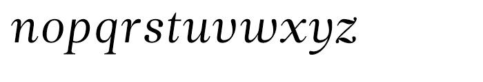 Leitura News Italic 1 Font LOWERCASE