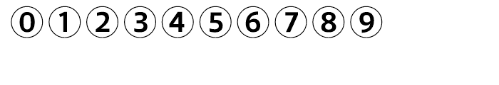 Leitura Symbols Circles Font OTHER CHARS
