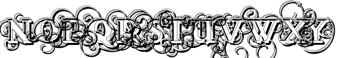 Lementa Experienced Font UPPERCASE