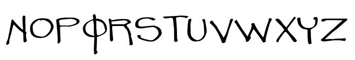 Leonel Px Regular Font UPPERCASE