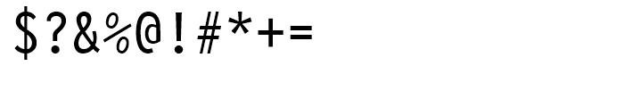 Letter Gothic 12 BT Regular Font OTHER CHARS