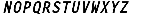 Letter Gothic L Bold Italic Font UPPERCASE