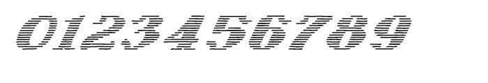 Letterstitch Light Oblique Font OTHER CHARS