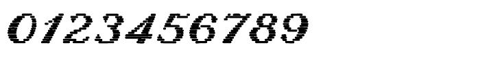 Letterstitch Script Bold Font OTHER CHARS