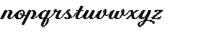 Letterstitch Script Bold Font LOWERCASE