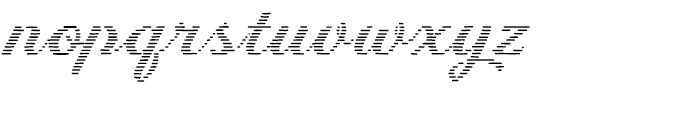 Letterstitch Script Light Font LOWERCASE