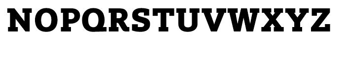 Lev Serif Extra Bold Font UPPERCASE