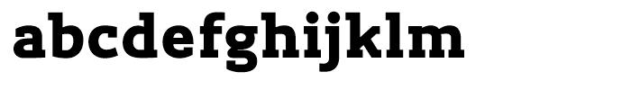 Lev Serif Extra Bold Font LOWERCASE